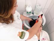 Içara: CRAS Jaqueline realiza ação de beleza e autoestima