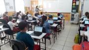 Professores de Içara participam de formação continuada via internet