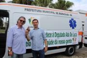 Nova ambulância passa a servir Maracajá