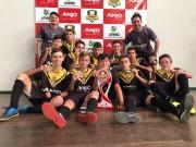 FME apresenta campanha no Projeto Anjos do Futsal