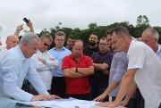 Iniciam as obras da primeira Área Industrial de Urussanga