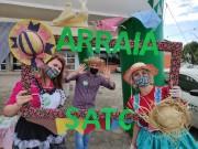 Arraial Solidário Satc mobiliza famílias para ação social em Turvo