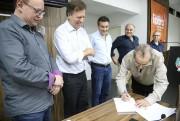 OS do novo Paço Municipal e revitalização de ruas são assinados