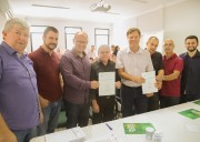 Ordem de serviço da primeira etapa de revitalização do Centro é assinada