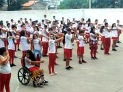 Crianças participam de ações voltadas à saúde em Içara