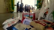 Instituições beneficentes receberão meia tonelada de alimentos