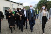 Diretoria do Bairro da Juventude recebe ministra Damares Alves