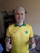 Içarense que reside em Porto Alegre recebe camisa do Barão do Rio Branco