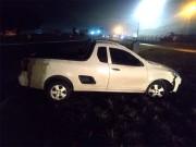 Motorista abandona  veículo na rótula