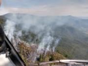 Incêndios em vegetação em SC crescem 407% em 2020, aponta Corpo de Bombeiros Militar