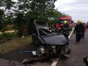 Motorista fica ferido ao se envolver em grave acidente registrado na BR-101 em Içara