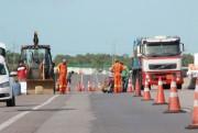 BR-101 terá melhorias no asfalto do km 413 em Araranguá
