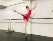 Meninas de Içara exibem coreografias no Garopaba em Dança