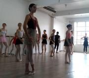 Alunas da Cia de Balé de Içara participam de cursos no RS e SP