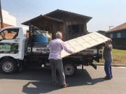 Moradora de Pedreiras é uma das beneficiadas com o Material de Construção