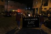 Banda Marcial Satc faz apresentação surpresa no Bairro Comerciário em Criciúma
