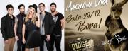 Didge fecha 2017 com clássicos do rock neste fim de semana