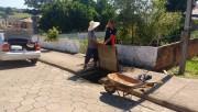 Defesa Civil de Içara realiza limpeza em bocas de lobo