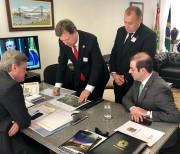 Recursos para Interpraias e Acesso Norte são pleiteados em Brasília