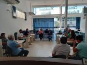 Gerente e supervisor dos Correios de Içara visitam vereadores de Balneário Rincão
