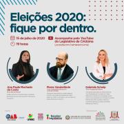 Eleições 2020 será o tema do evento organizado pelo Legislativo de Criciúma