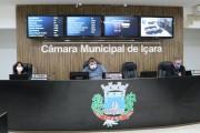 Vereadores de Içara realizaram sessão ordinária nesta segunda-feira