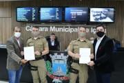 Vereadores aprovam moções para soldados da Polícia Militar em Içara