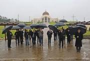 Bispos e coordenadores pastorais fazem peregrinação no Santuário