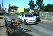 Buraco na ICR-252 prejudica trânsito