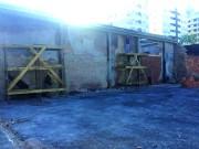 Lojas De Luca inicia reforma do pavilhão incendiado