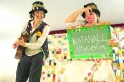 Estudantes aprendem sobre trabalho infantil com teatro