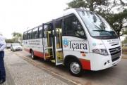 CAPS de Içara ganha novo micro-ônibus