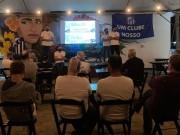 Caravággio apresenta projeto de profissionalização durante festa dos 51 anos