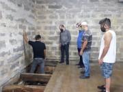 Casa de Pedra do Museu ao Ar Livre, de Orleans, passa por obras de drenagem