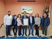 CDL recebe Moção de Aplausos da Câmara de Criciúma