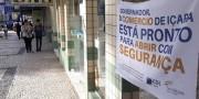 Comerciantes de Içara realizam campanha de higienização para retomar atividade