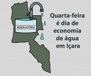Economia de água em Içara