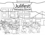 Julifest anima Praia do Rincão