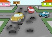 Governo omisso, buracos na ruas