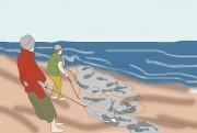 Pescadores animados