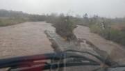 Chuva causada por novo ciclone deixa quatro homens ilhados em Timbé do Sul
