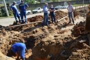 Cidade de Cocal do Sul começa a receber água da Barragem do Rio São Bento