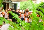 Coral infanto juvenil realiza apresentação para idosos de casa de repouso