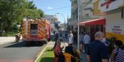 Incêndio em fritadeira atinge restaurante no Centro de Içara