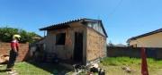 Moradores controlam incêndio em residência no Município de Balneário Rincão
