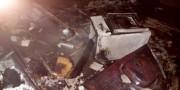 Casa desabitada é consumida por incêndio em Sanga Funda