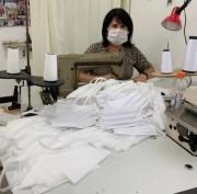 Coronavírus em SC: 13 centros de treinamento da Epagri produzem máscaras de proteção