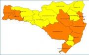 Matriz de risco atualizada mostra oito regiões em nível alto e oito em grave