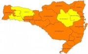 Coronavírus em SC: Nova matriz de risco aponta quatro regiões com risco alto