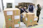 """Governo do Estado recebe medicamentos do Ministério da Saúde do """"kit intubação"""""""